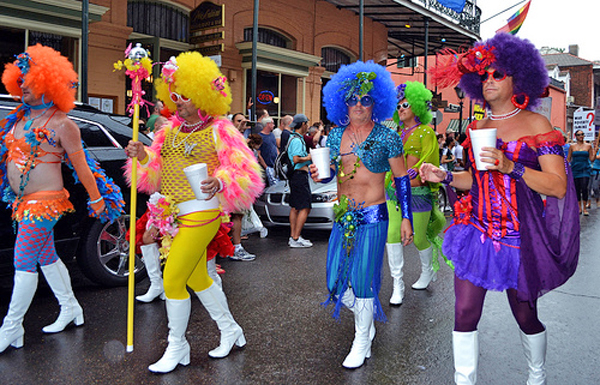 Gay Mardi Gras New Orleans